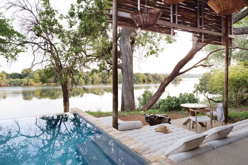 Matetsi River Lodge Suite Plunge Pool