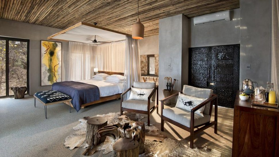 Matetsi River Lodge family suite
