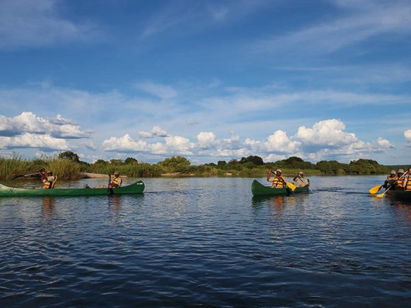 Matetsi River Lodge river
