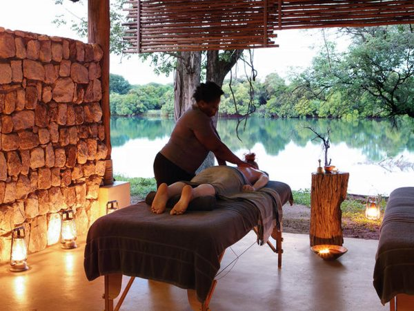 Matetsi River Lodge spa