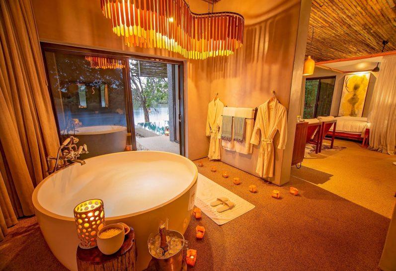 Matetsi Victoria Falls family suite bathroom