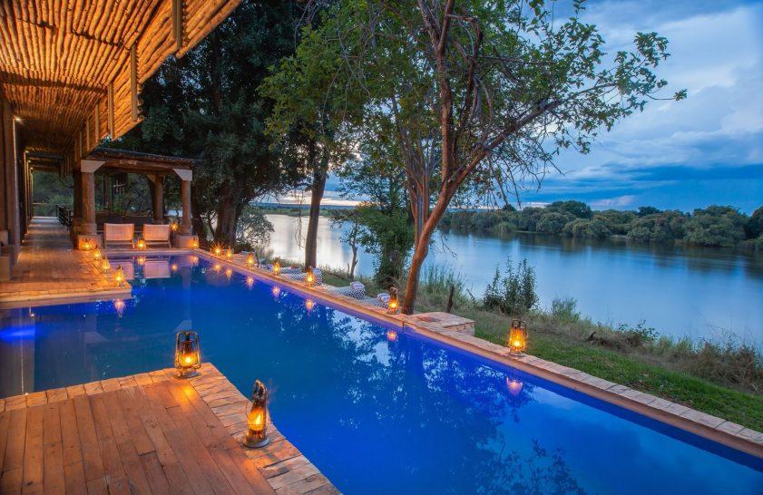 Matetsi Victoria Falls pool