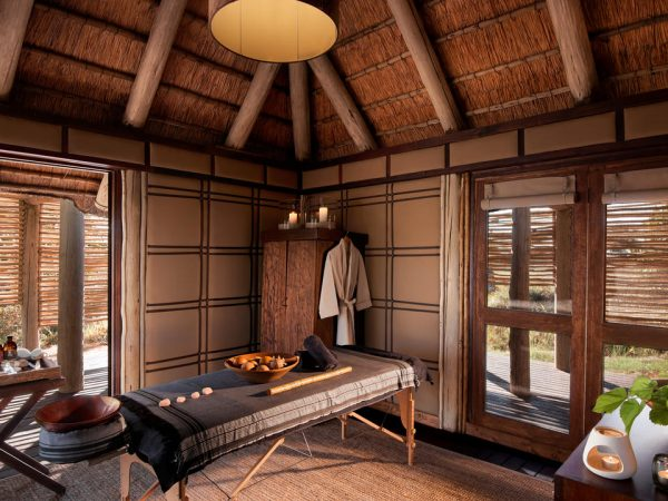 AndBeyond Nxabega Okavango Tented Camp spa