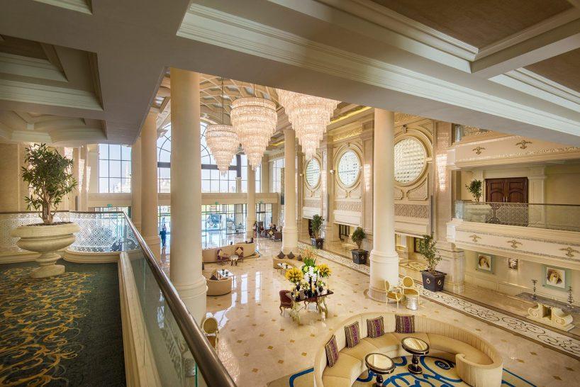 Ritz Carlton Abu Dhabi Lobby