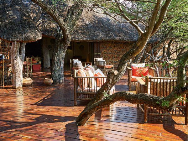 Sanctuary Makanyane Safari Lodge common area