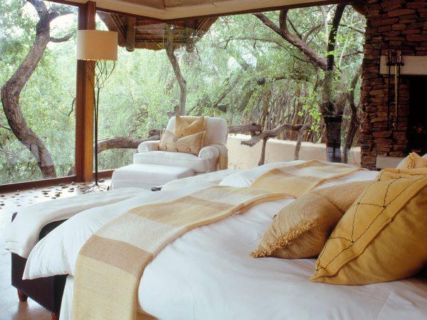 Sanctuary Makanyane Safari Lodge bedroom view
