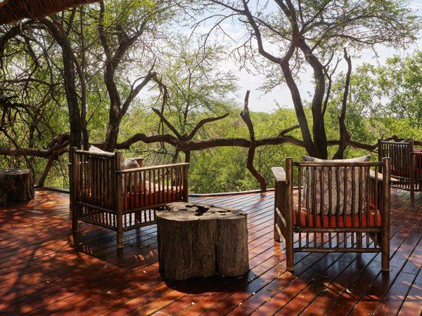 Sanctuary Makanyane Safari Lodge exterior