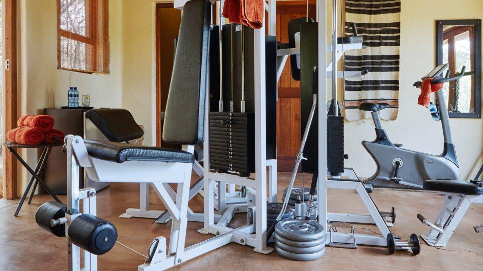Sanctuary Makanyane Safari Lodge gym