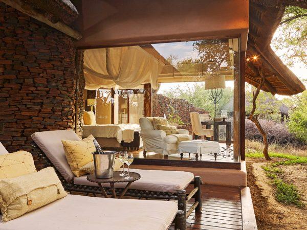 Sanctuary Makanyane Safari Lodge outside view