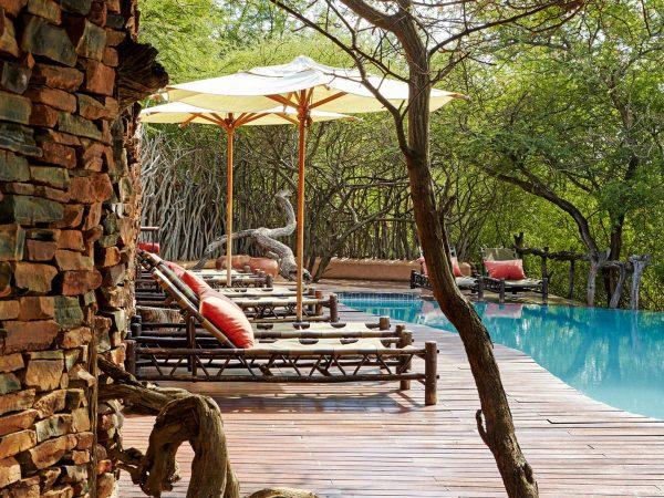 Sanctuary Makanyane Safari Lodge pool view