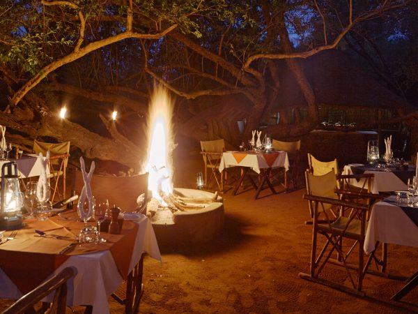 Sanctuary Makanyane Safari Lodge restaurant drink