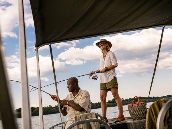 Sanctuary Sussi & Chuma fishing