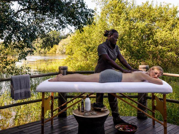 Sanctuary Sussi & Chuma spa massage