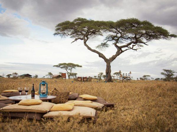 Serengeti under canvas picnic