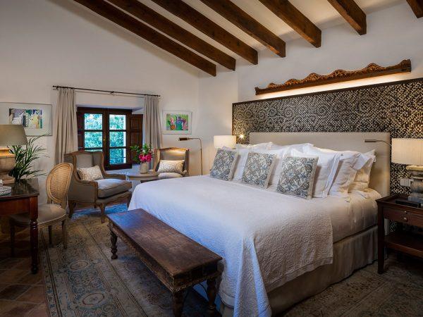 Son Bunyola Balagueret bedroom