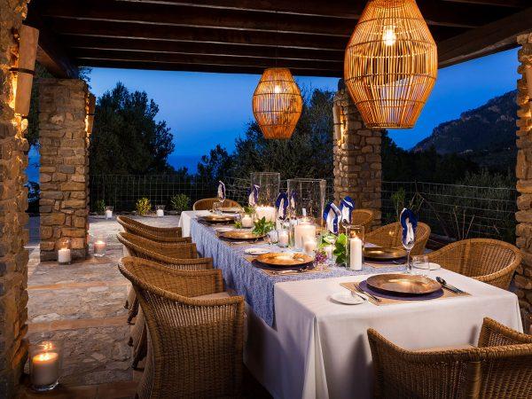 Son Bunyola Outdoor Dining
