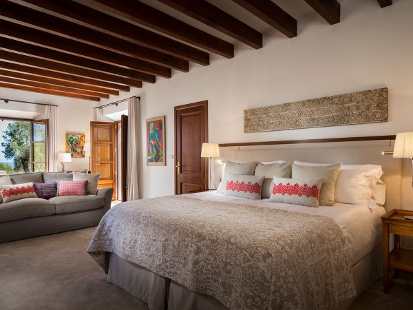 Son Bunyola Terra Rotja bedroom