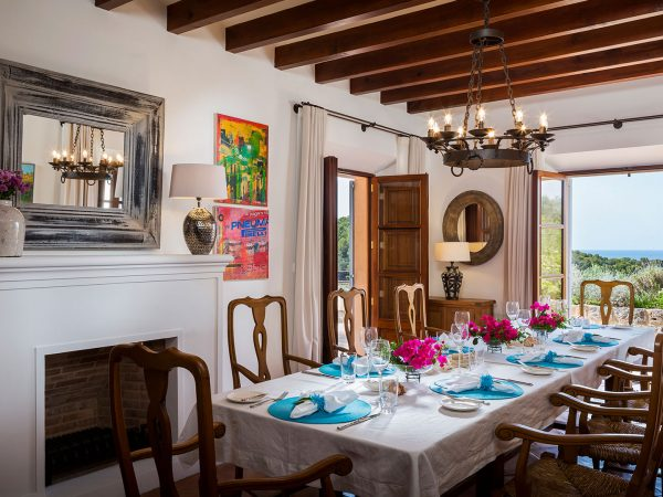 Son Bunyola Terra Rotja dining-room shared spaces