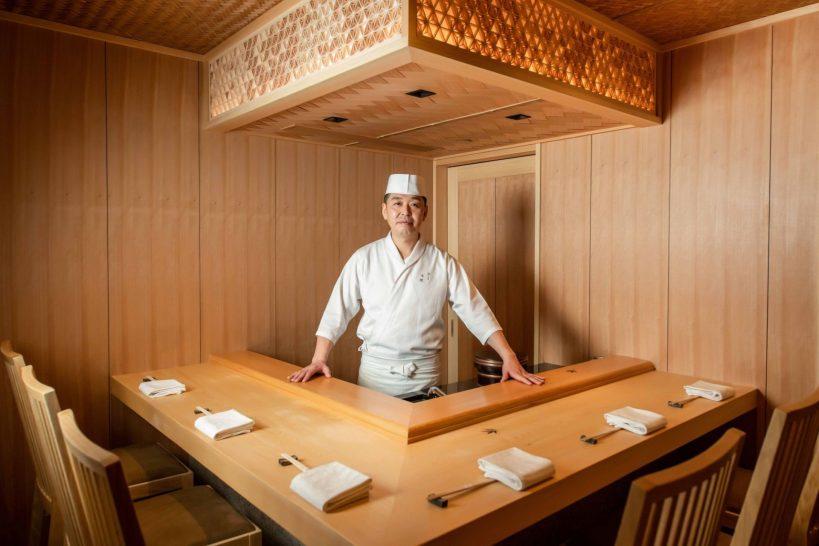 The Landmark Mandarin Oriental Sushi Shikon