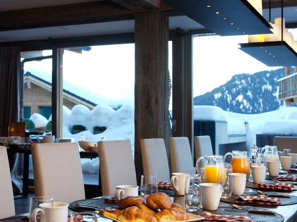 The Lodge Switzerland Breakfast