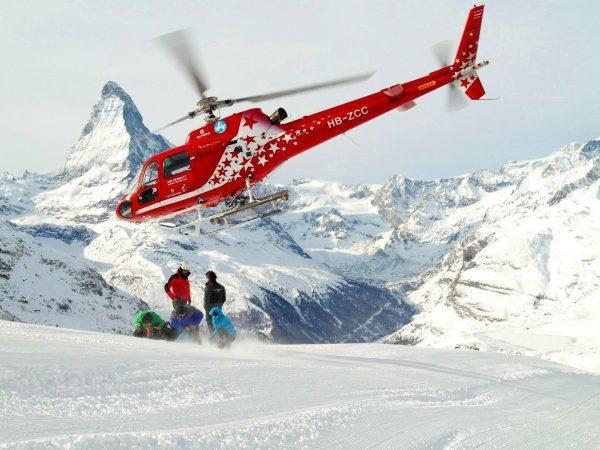 The Lodge Switzerland Heli Skiing