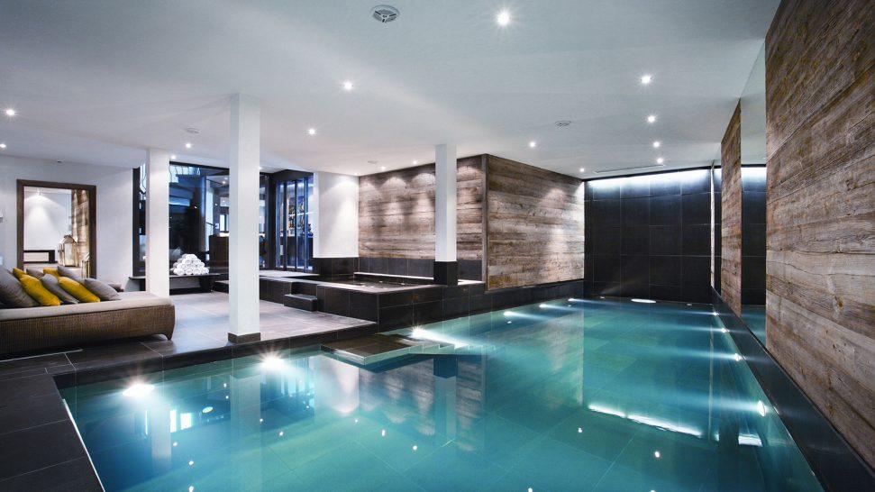 The Lodge Switzerland indoor pool