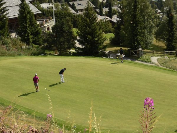 The Lodge Switzerland Verbier Golf Course