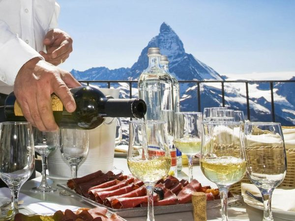 The Lodge Switzerland Wine tasting
