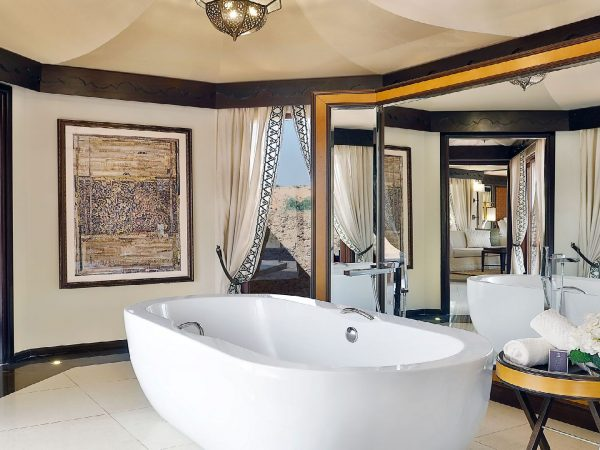 The Ritz Carlton AL Wadi Desert Bathroom