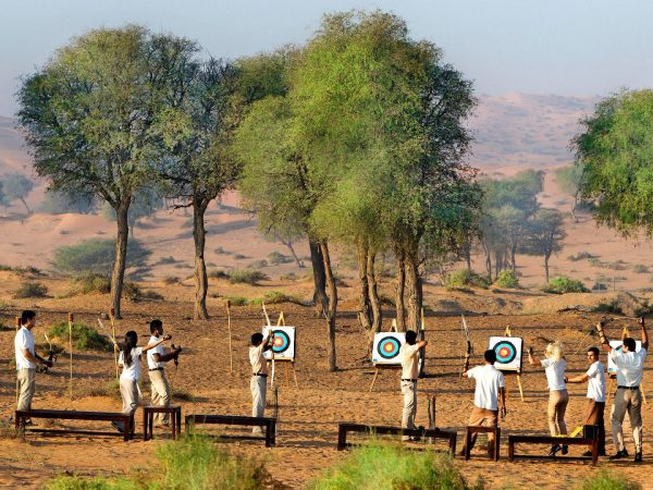 The Ritz Carlton AL Wadi Desert Group Archery
