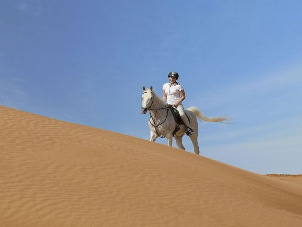 The Ritz Carlton AL Wadi Desert Horse Riding