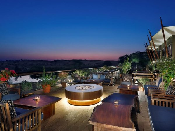 The Ritz Carlton AL Wadi Desert Out Door Restaurant