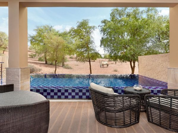 The Ritz Carlton AL Wadi Desert Villa Pool