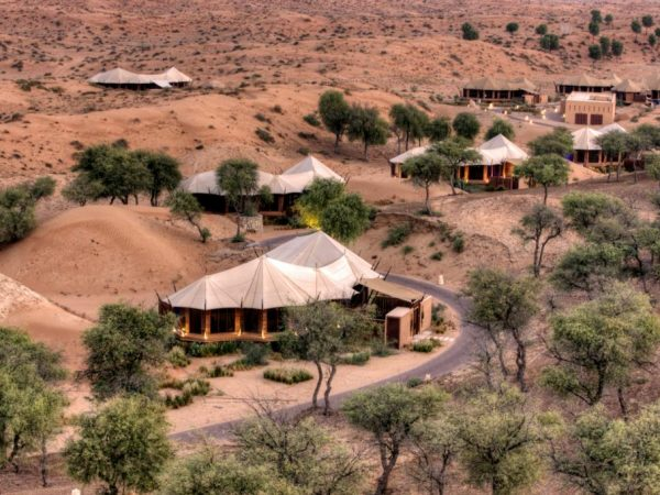 The Ritz Carlton AL Wadi Desert view