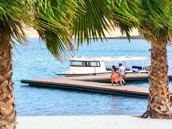 The Ritz Carlton Al Hamra Beach Arrival