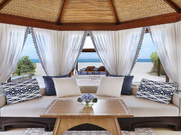 The Ritz Carlton Al Hamra Beach Couch