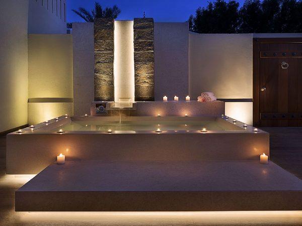 The Ritz Carlton Al Hamra Beach Outdoor Bath Night