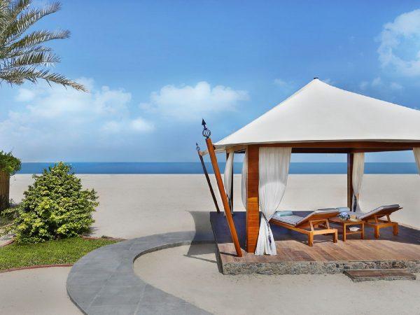 The Ritz Carlton Al Hamra Beach Relaxing