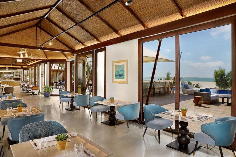 The Ritz Carlton Al Hamra Beach Restaurant