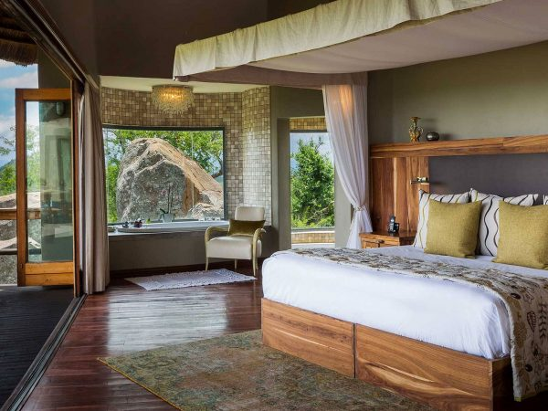 Ulusaba Cliff Lodge Bedroom