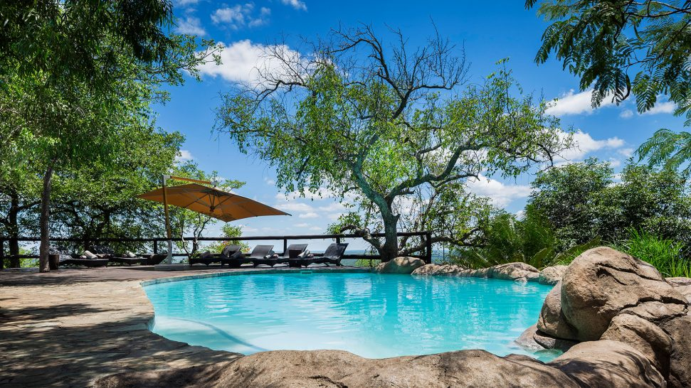 Ulusaba Lodge Pool View