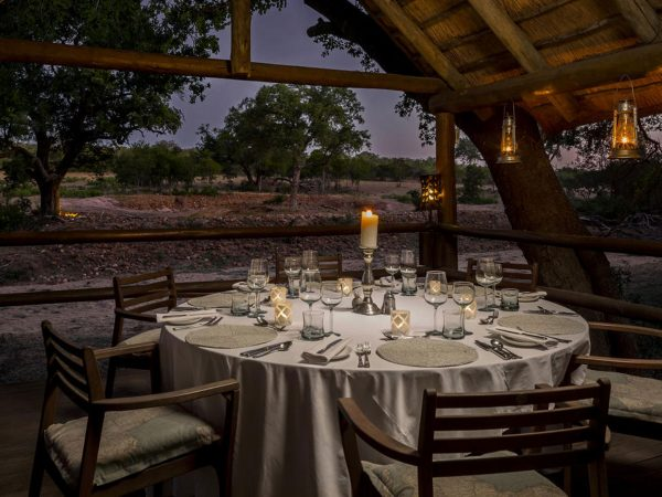 Ulusaba Private Dining