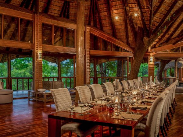 Ulusaba Private Game Reserve  Dining