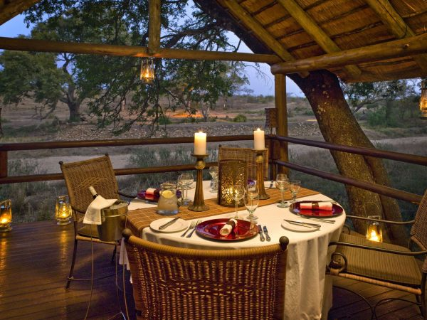 Ulusaba Private Safari Game Private Dining