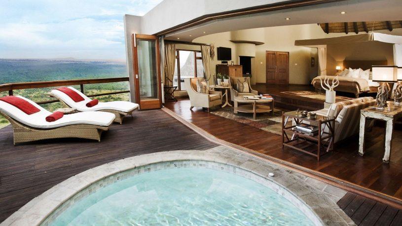 Ulusaba Private Safari Game Reserve Suite