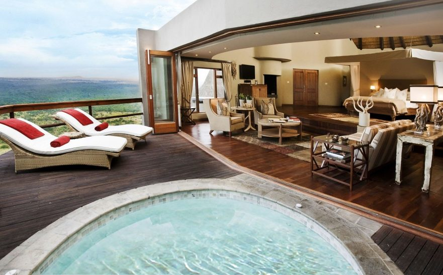 Ulusaba Private Safari Game Reserve Suite