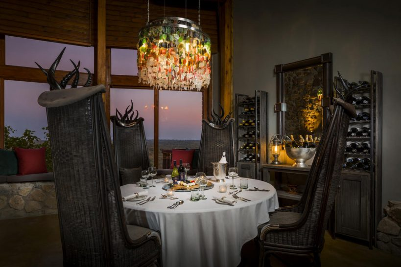 Ulusaba Private Safari Game Wine Tasting Room