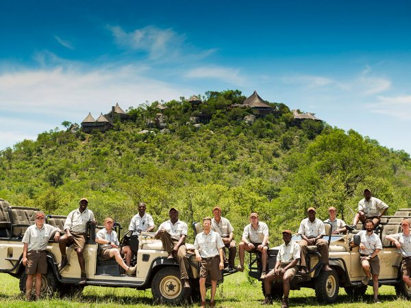 Ulusaba Rangers and Trackers