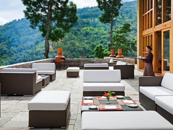 COMO Uma Punakha Bar Exterior View