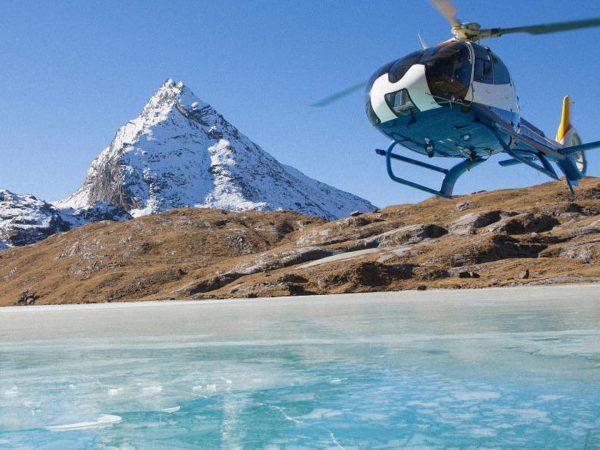 COMO Uma Punakha Helicopter View